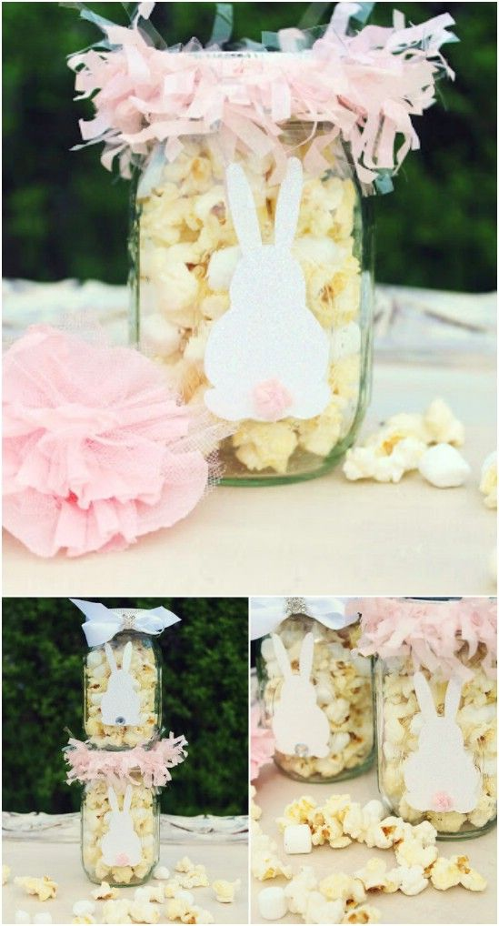 Wonderful Mason Jar Easter Crafts You Can Gift And Décor Your Home