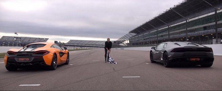 Rent a McLaren or a Lamborghini, or both, from titaniumluxuryhire.com