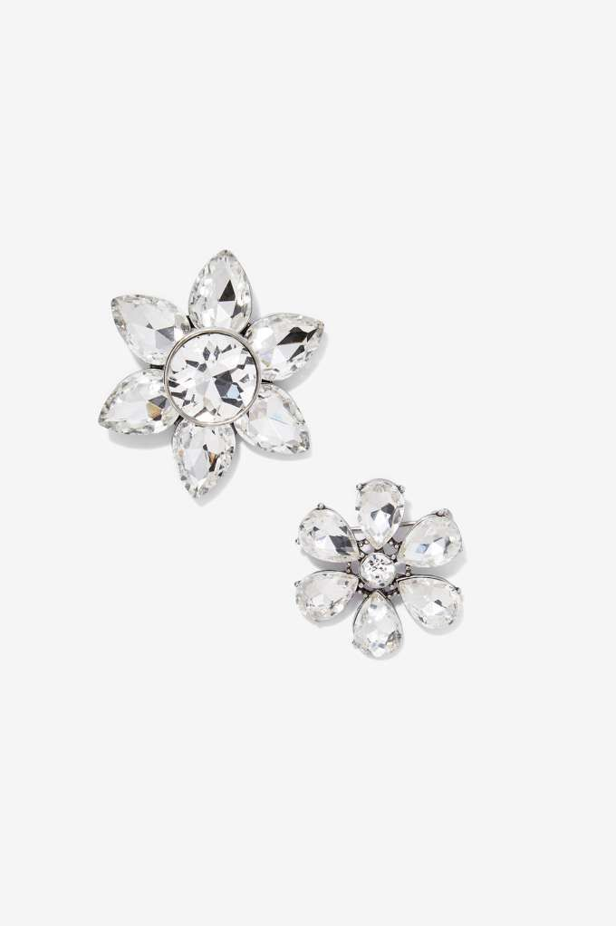 Top Shelf 2-pc Crystal Brooch Set - Accessories | Pins + Patches