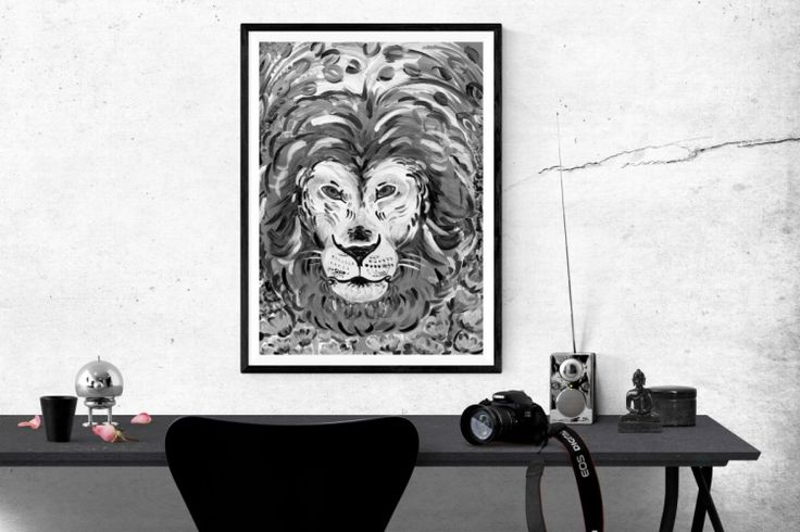 Indian Lion - In-context view (studio)