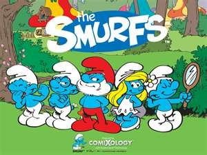 Smurfs- watched every Saturday am as a kid :)