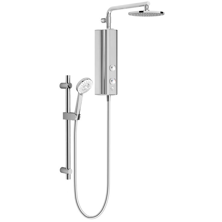 SHOP the AQUAS AquaMax Flex Manual Smart 9.5KW Full Chrome Electric Shower at Victorian Plumbing UK