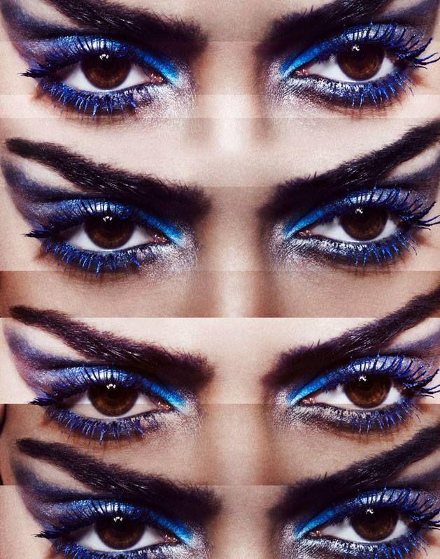 Blue Period by Dirk Bader for Vogue India, December 2013. www.bibleforfashion.com/blog #bibleforfashion
