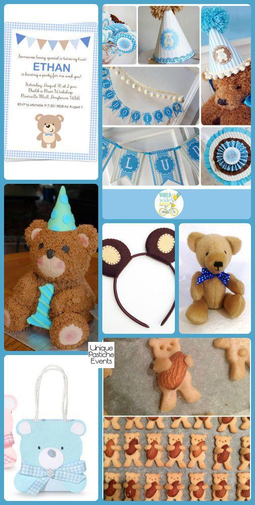 Birthday Bear Picnic Ideas for National Teddy Bear Day #IdeaBoard #InspirationBoard