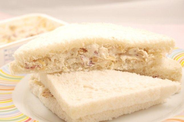 Sandwich de bacon a la carbonara (receta Rodilla)