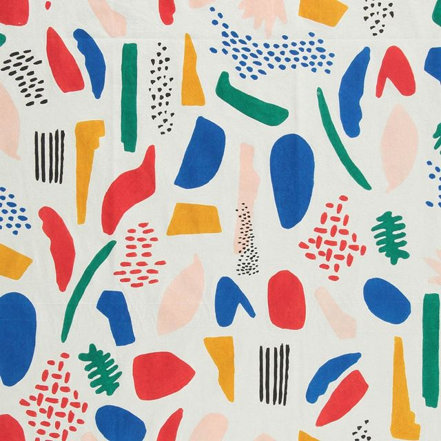 The Bobo Choses print 'Matisse' is part of Der Blaue Reiter for Spring/Summer 2016, naturally in tribute to the French painter.  We love the Matisse print for its pure celebration of spring, of newness, of childlike joy.