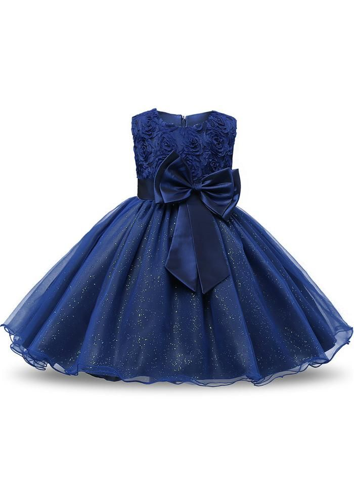 44b15319930d Princess Flower Girl Dress Wedding Party Dresses