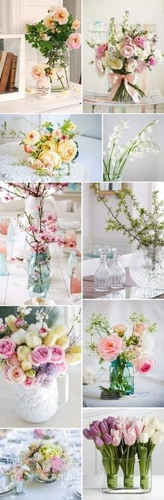 Table flower decoration