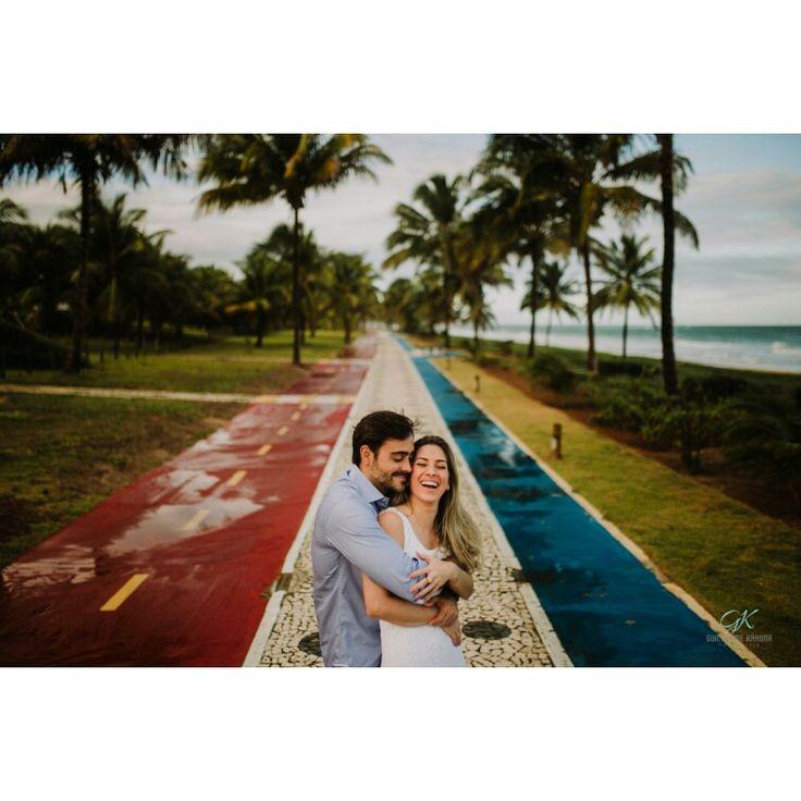 Bruna e Marcus, lindo ensaio no litoral da Bahia.