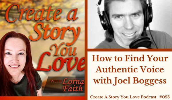 025  How to Find Your Authentic Voice with Joel Boggess #CASYLpodcastinterviews #writing