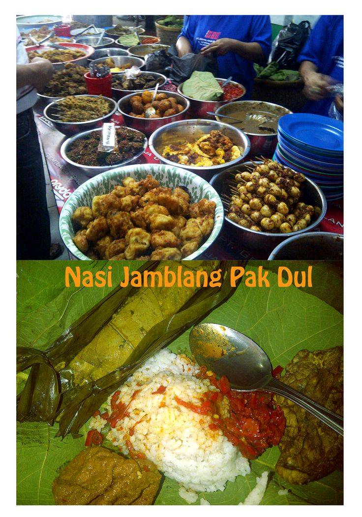 Nasi Jamblang Pak Dul - Cirebon