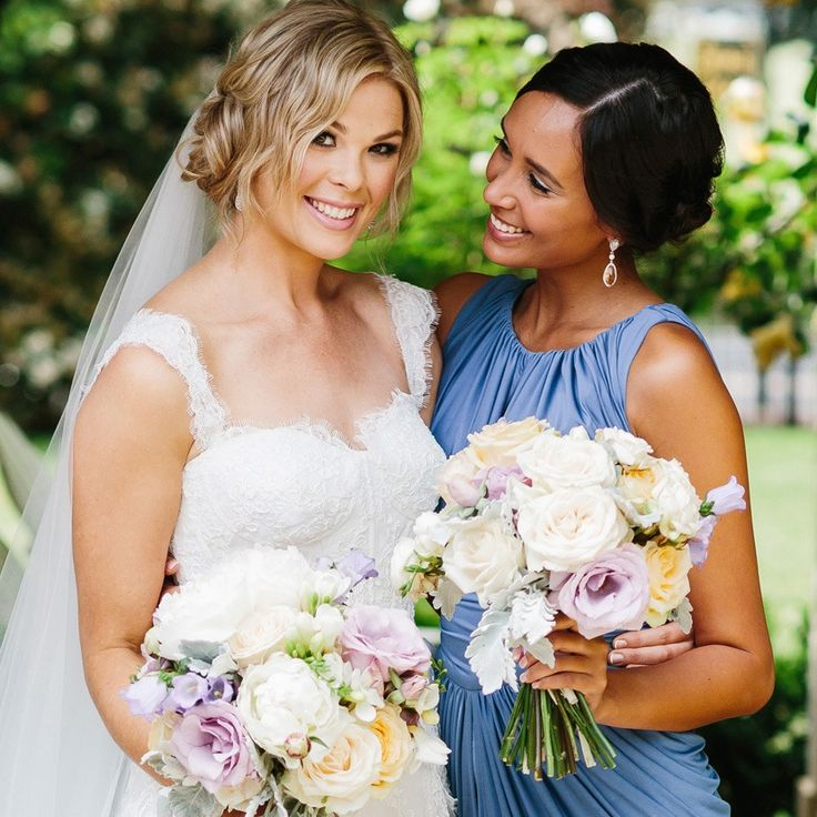 "Bridesmaid wears ""Sunsets And You"" earrings / Shop via www.missamy.com.au"