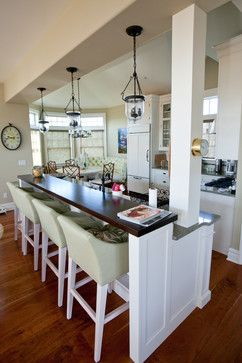 Galley Kitchen Designs With Breakfast Bar best 25+ galley kitchen island ideas on pinterest | kitchen island