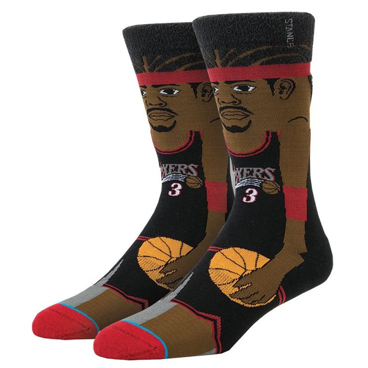 Stance Men's Iverson Socks - Black