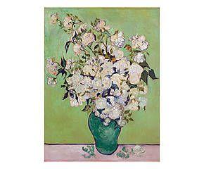 Stampa fine art su canvas con telaio in legno Composizione II - 100x70x4 cm