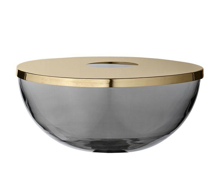 """Vase en verre """" TOTA """" via Goodmoods"""