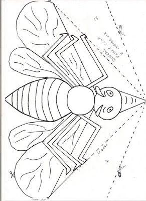 Ensinando com Carinho: Dobradura do mosquito da dengue