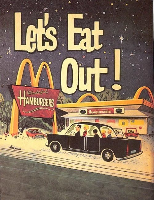 Remember the first time I ate there with my family in the early 60's. A cheeseburger, fries and chocolate milkshake.