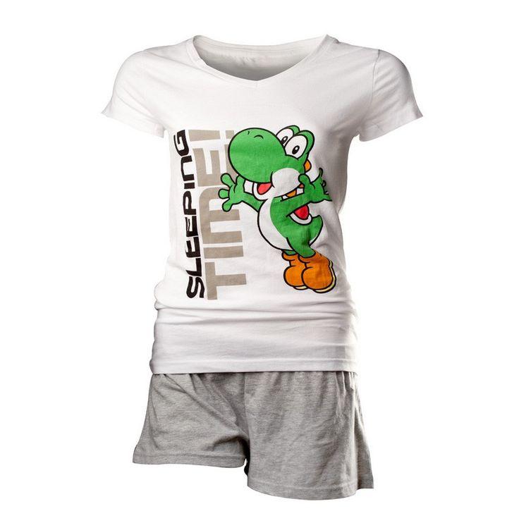 Pyjama Femme Nintendo - Shortama Yoshi #Nintendo #Yoshi #WAF