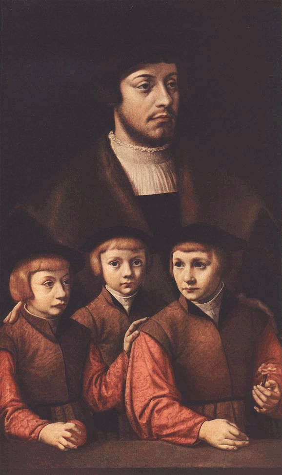 Bruyn, Father with three sons