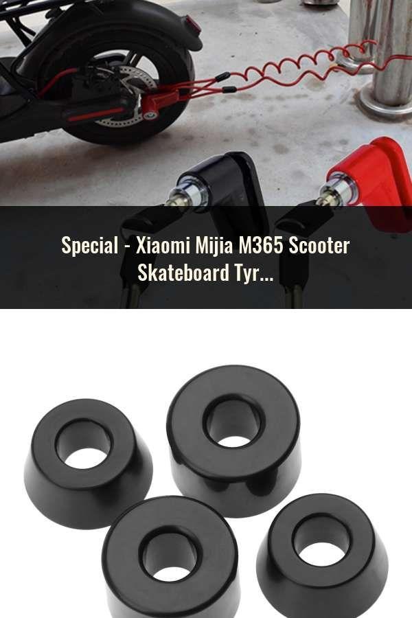 Xiaomi Mijia M365 Scooter Skateboard Tyre Solid Hole Tires Shock