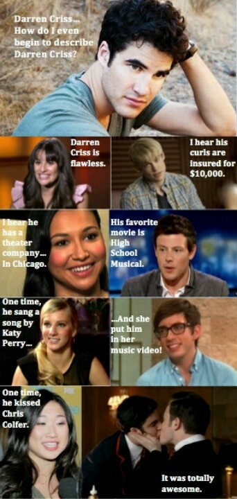 #meangirls #glee #darrencriss