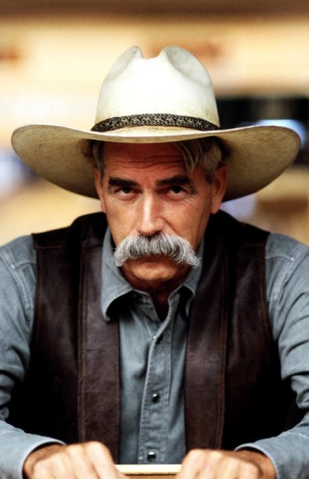 Sam Elliott as The Stranger in The Big Lebowski.