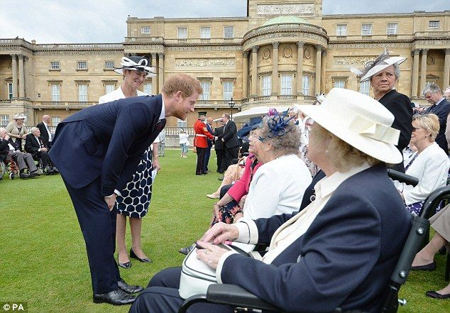 The royal looked completely at ease as he chatted to guests while hosting his first ever g...