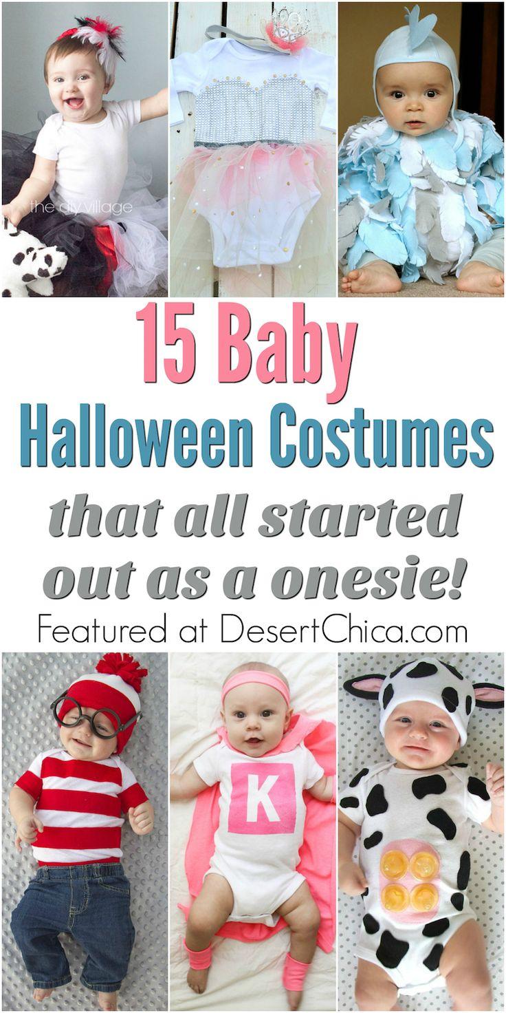 DIY Baby Onesie Costumes