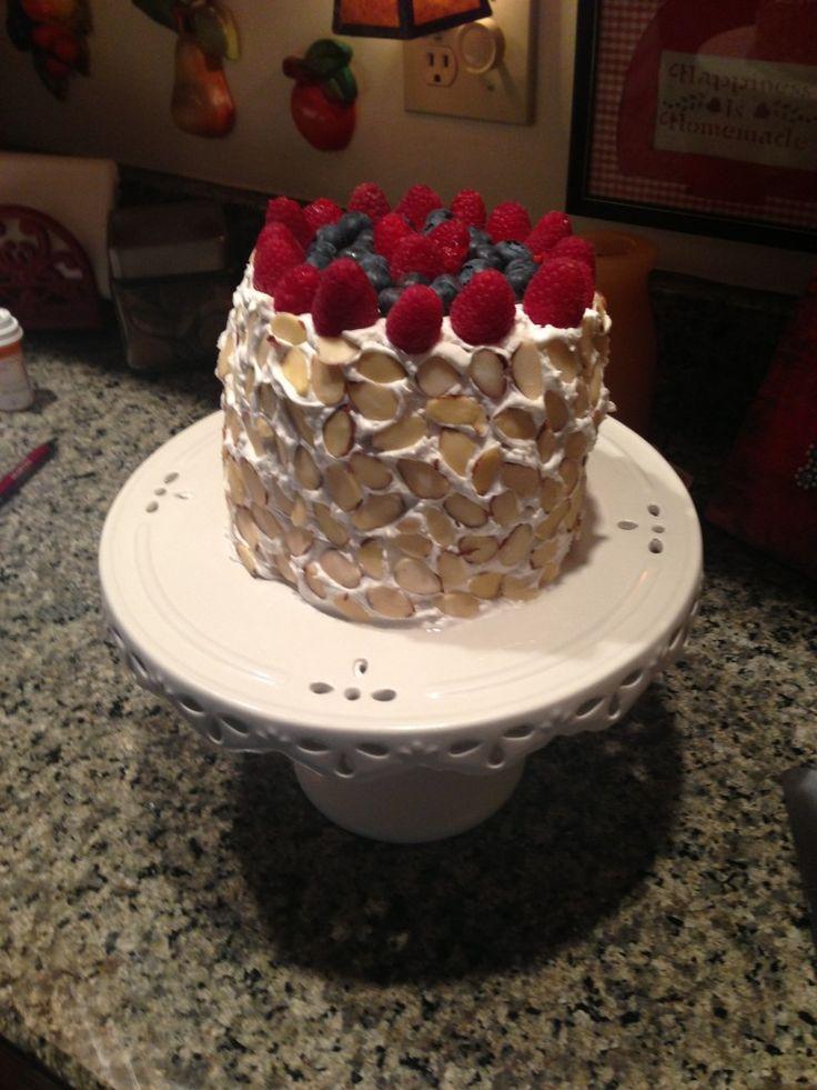 WATERMELON NO-BAKE CAKE
