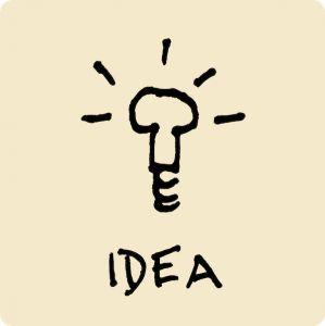 idea, light bulb, inspiration