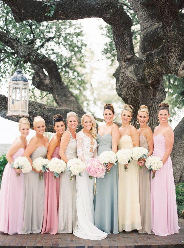 Best 25  Pastel bridesmaid dresses ideas on Pinterest   Pastel ...