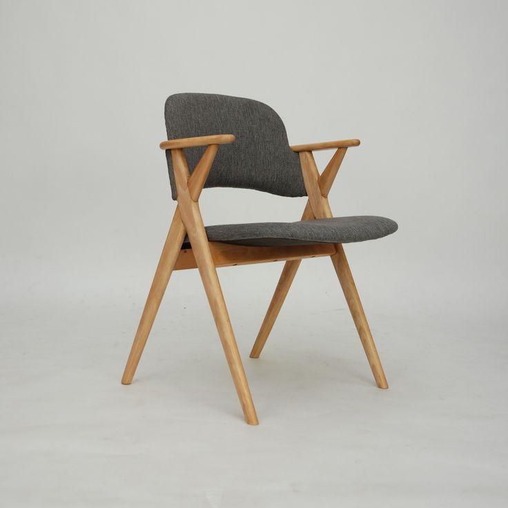 ClassicModern.pl » Krzesło z podłokietnikami DANISH MODERN id 120816