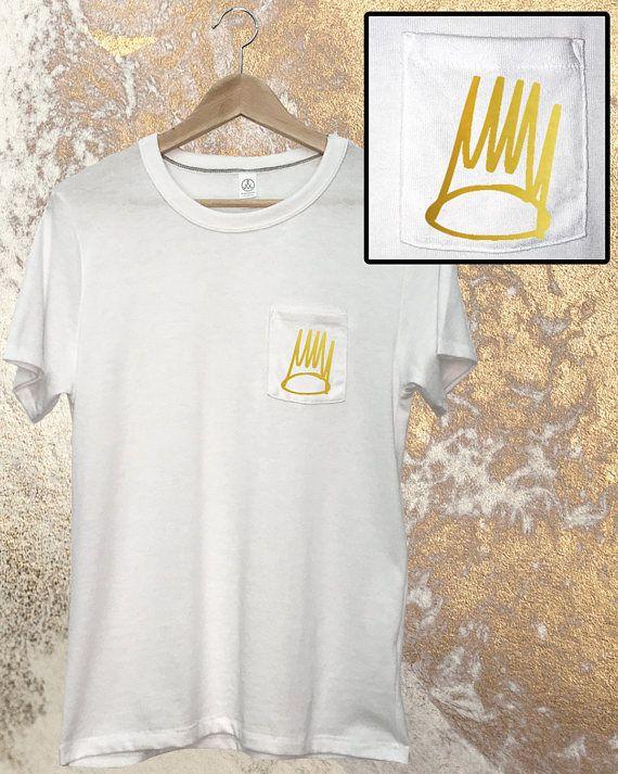 J Cole Pocket Tee - Crown T-Shirt - J Cole Shirt - Dreamville - Forest Hills Drive - 4 Your Eyez Only - Born Sinner - J Cole Crown - J. Cole