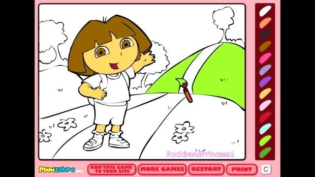 Exclusive Picture Of Online Coloring Pages For Kids - Entitlementtrap.com Online  Coloring Pages, Dora Coloring, Online Coloring For Kids