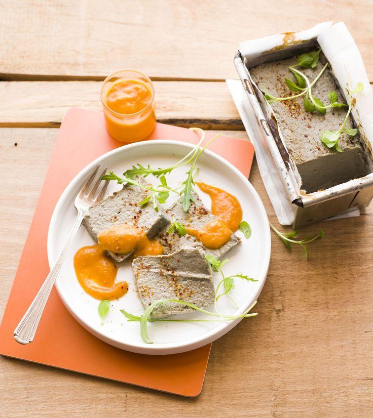 papeton d'aubergine et sa sauce tomate