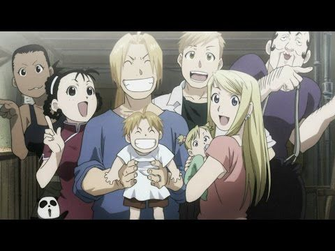 Fullmetal Alchemist Brotherhood Final Scene English dub/cover HD - YouTube  This is my favorite show of all freaking time!!!!!!! It will never get old! No matter how many times I watch it!!!!! :D