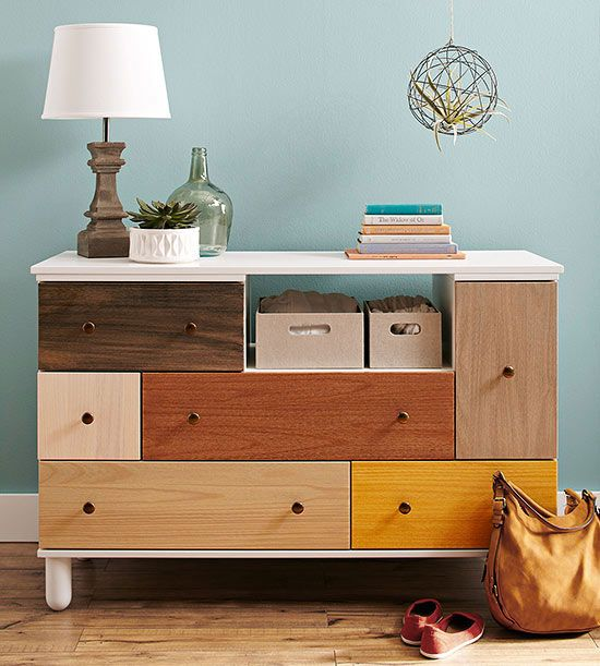 Furniture Project: Stained Dresser