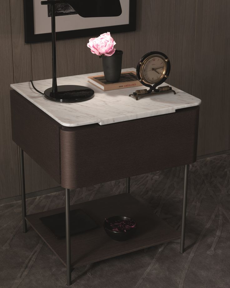 LINDO Bedside table by MisuraEmme design Marelli e Molteni