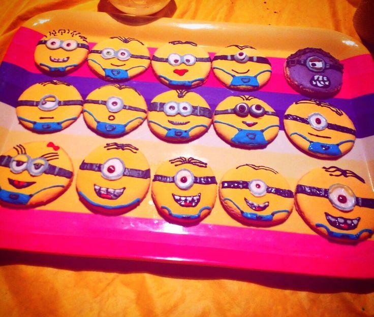 Minions galletas