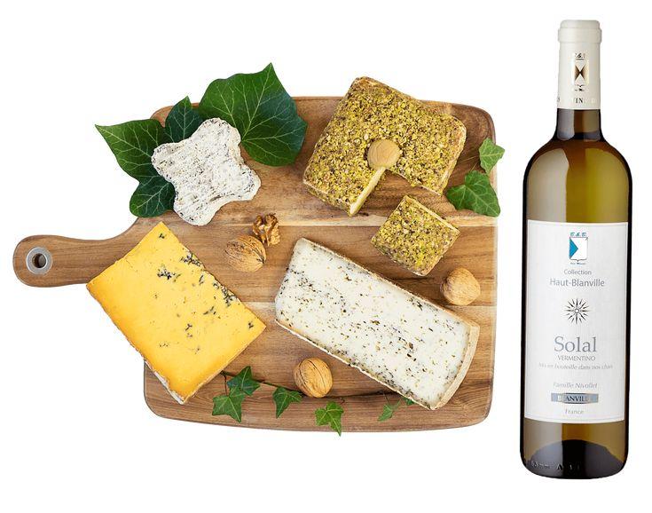 Tentation Fromage! Box de fromages français + vin + charcuterie par abonnement ou plateaux de fromages.... C'est à vous de choisir!