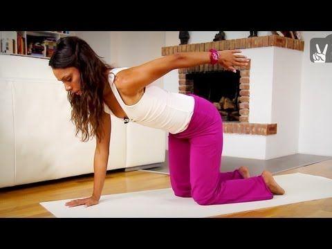 Gesunde Wirbelsäule: Pilates für Anfänger 30 Minuten Programm für die Wirbelsäule - YouTube