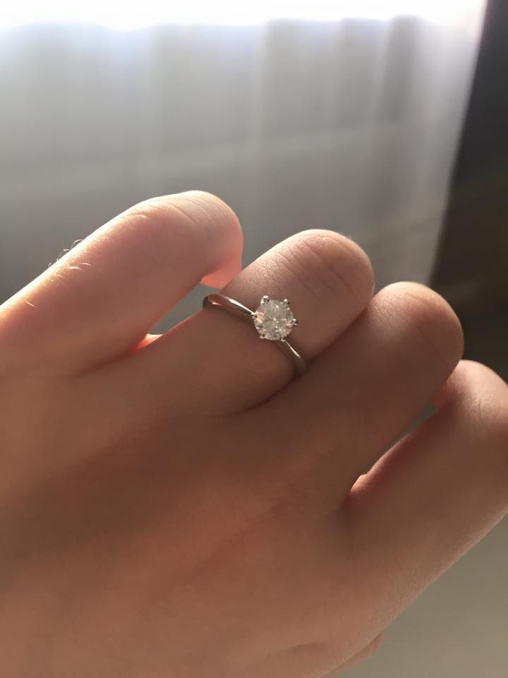 My dream come true engagement ring!!