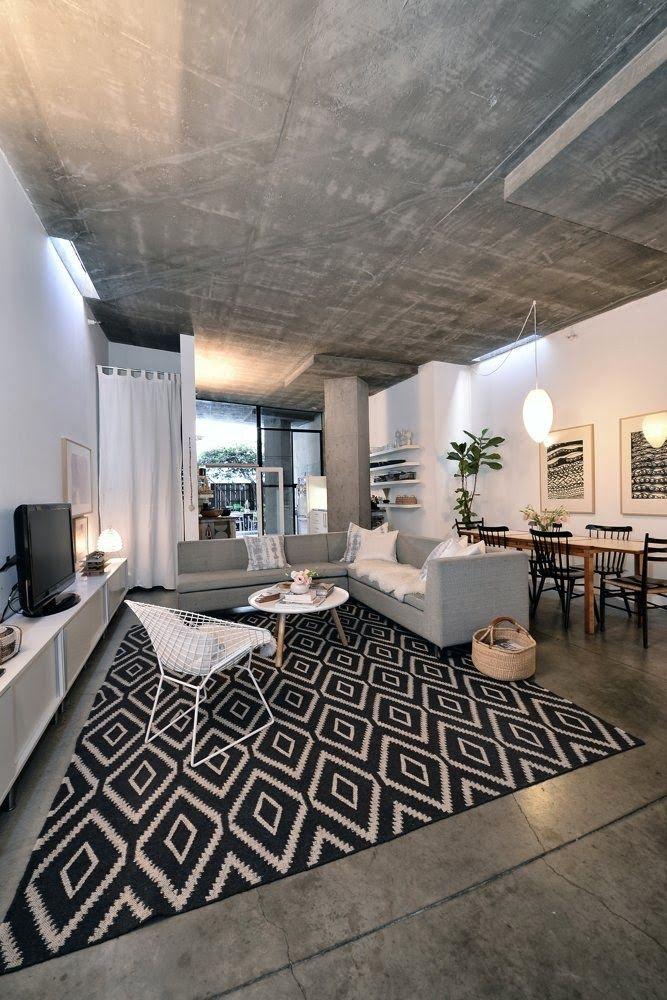Concrete ceiling * Interiors Interiors * The Inner Interiorista