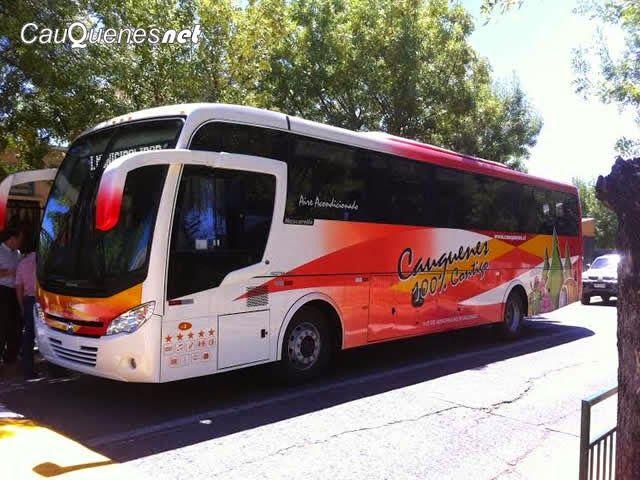 Cauquenesnet / Noticias de Cauquenes: Inauguran nuevo bus para transporte escolar finan ...