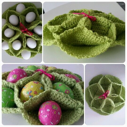 Crochet Egg Holder : about Crochet & Knit Projects on Pinterest Crochet baby, Crochet ...