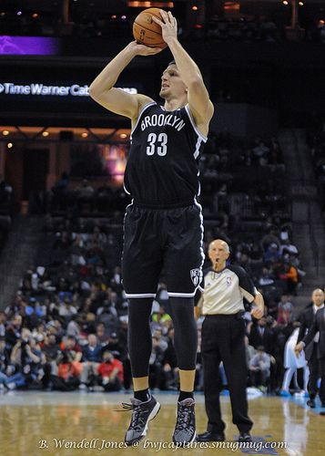 Brooklyn #Nets Mirza Teletovic in 2013.