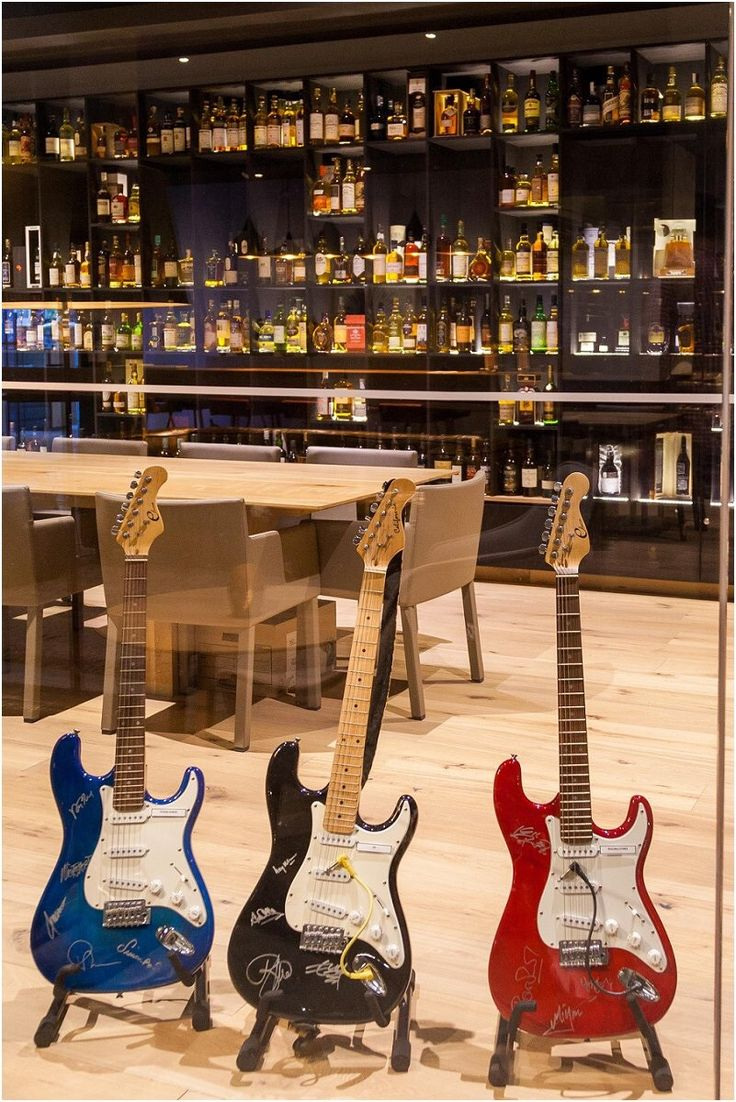 Guitar & Whiskey collection at Cavalli Estate   ___  #CavalliEstate #Collectors #Whiskey