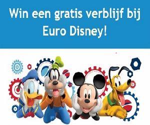 Krijg kans om een gratis verblijf te winnen bij Euro Disney (Belgium only). Schrijf u nu in!
