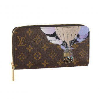 Louis Vuitton bags Outlet Online Zippy Wallet Illustre $87.58